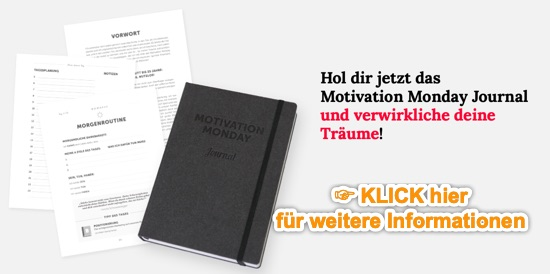 MOTIVATION MONDAY JOURNAL