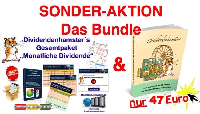 Ebook Paket Monatliche Dividende Bundle